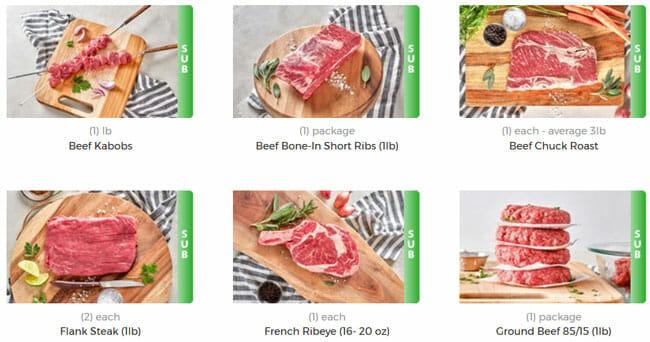 Moink beet meat