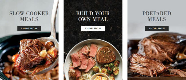 Omaha Steaks Meals & Occasions