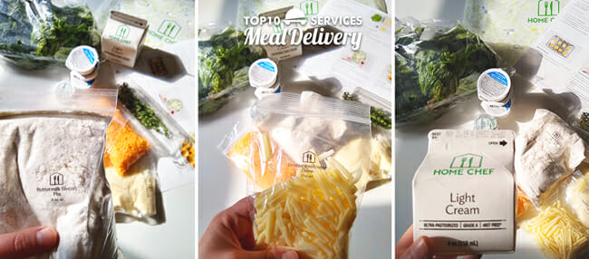 Home Chef Ingredient Packaging