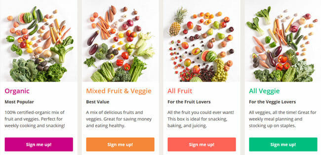 Imperfect Produce Packaged Goods