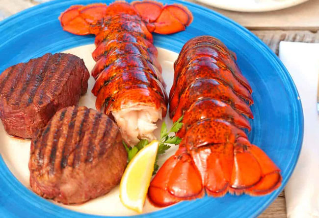 Lobster Anywhere Surf Turf Dinner