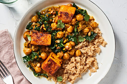 RealEats Chickpea and Squash Curry