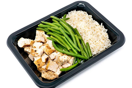 ICON Meals chicken rice veggies