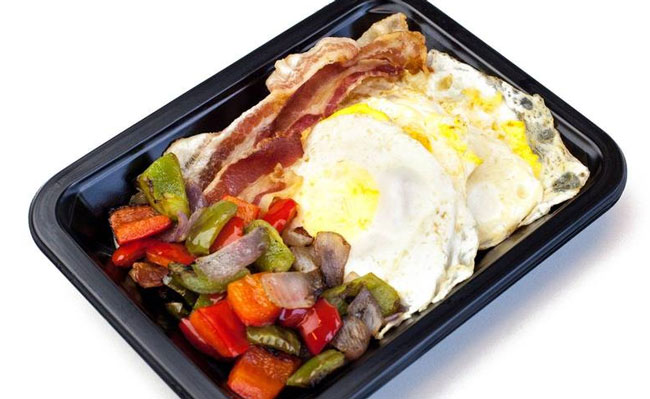 ICON Meals eggs and bacon