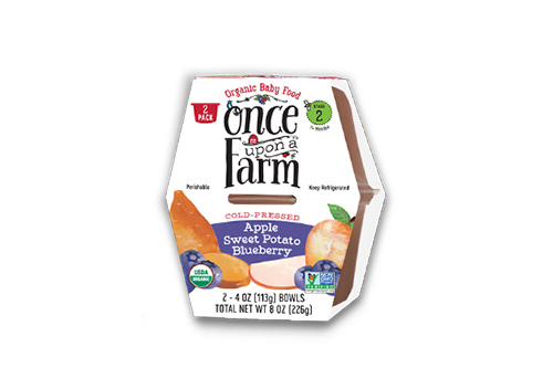 Once Upon A Farm Apple Sweet Potato Blueberry