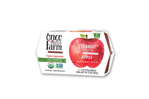 Once Upon A Farm Straight fromthe Apple