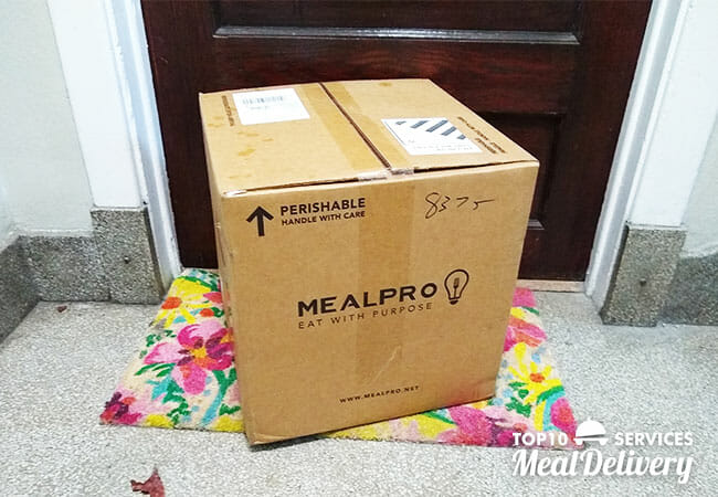 mealpro box arrived