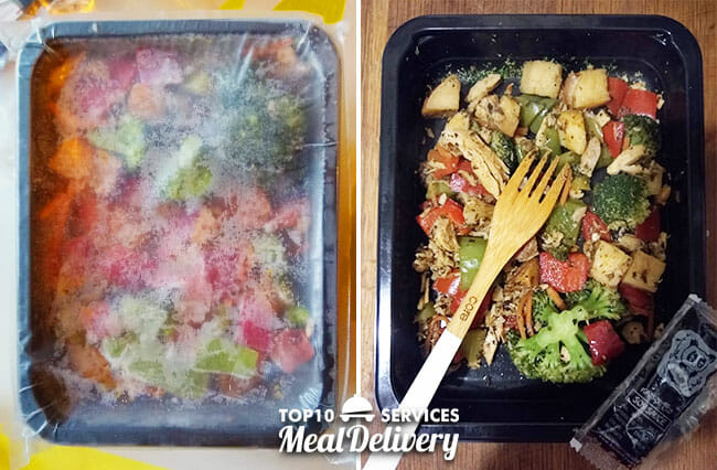 mealpro meal frozen and unfrozen