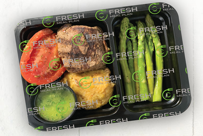 Fresh Meal Plan meal in the packet