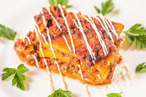 Ice-Age Meals paleo butternut squash lasagne