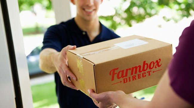 Farmbox Direct delivery box