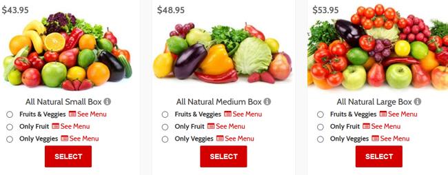 Farmbox Direct example price