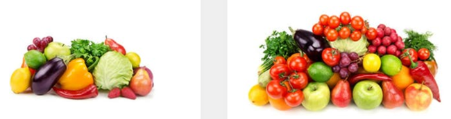 Farmbox Direct vegetable on white background