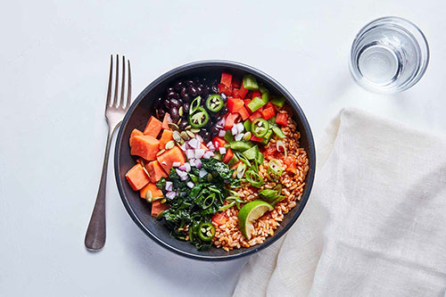 Splendid Spoon Brown Rice Taco Bowl