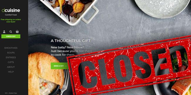 Dcuisine homepage closed