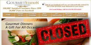 Gourmet Station closed services