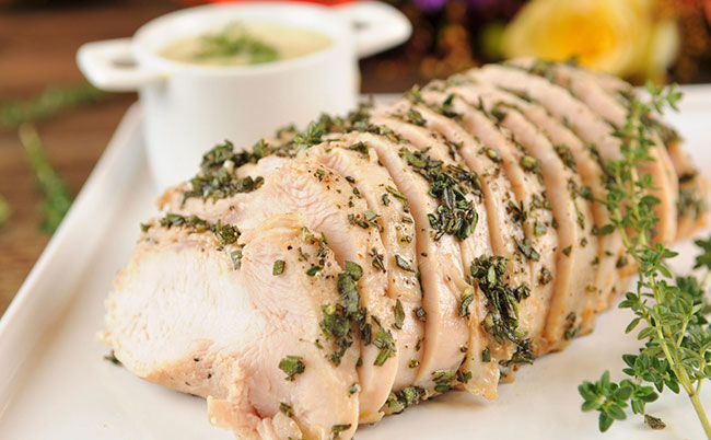 Home Chef Thanksgiving Special Sous Vide Turkey Breast