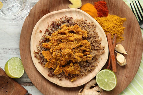 MamaSezz Lentil Dhal with Quinoa