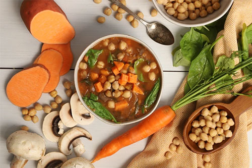 MamaSezz Mushroom Chickpea Stew