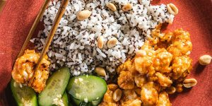 Purple Carrot This Kung Pao Cauliflower packs