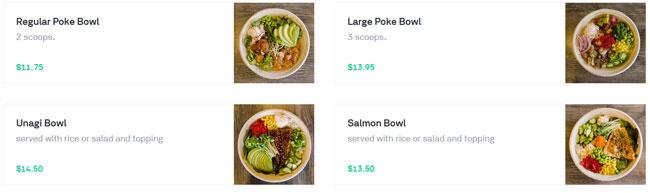 Postmates simple price meals
