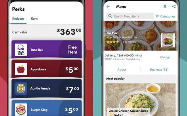 seamless app on smart phone