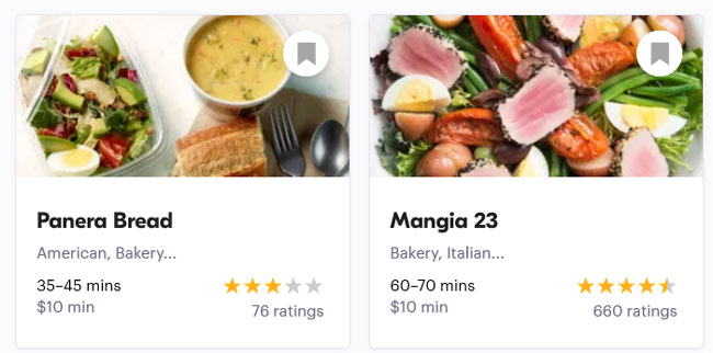 seamless example meals order