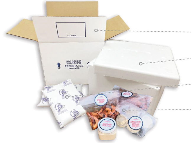 Cameron's-Seafood packaging info box