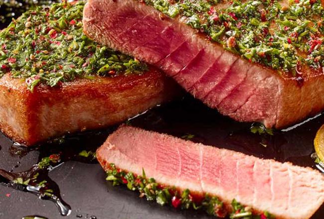 Cameron's-Seafood tuna steak