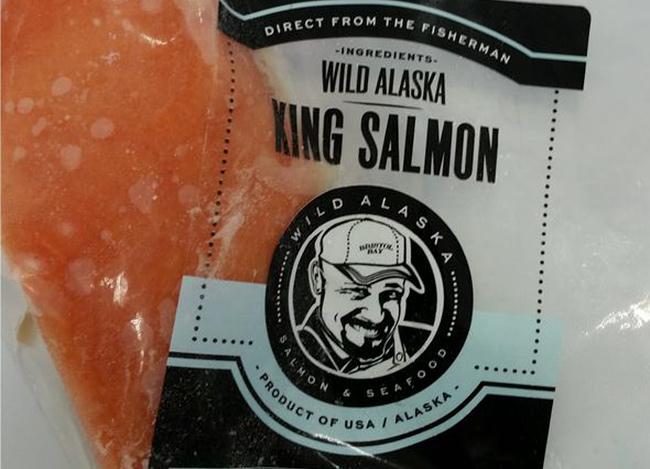 FarmFoods wild Salmon