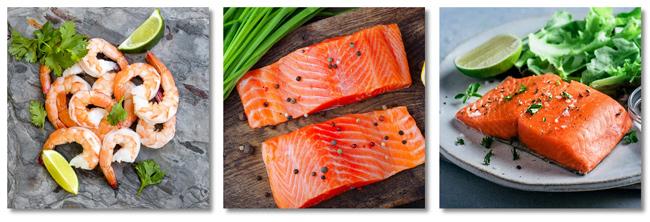 Sizzlefish wild salmon and shrimp